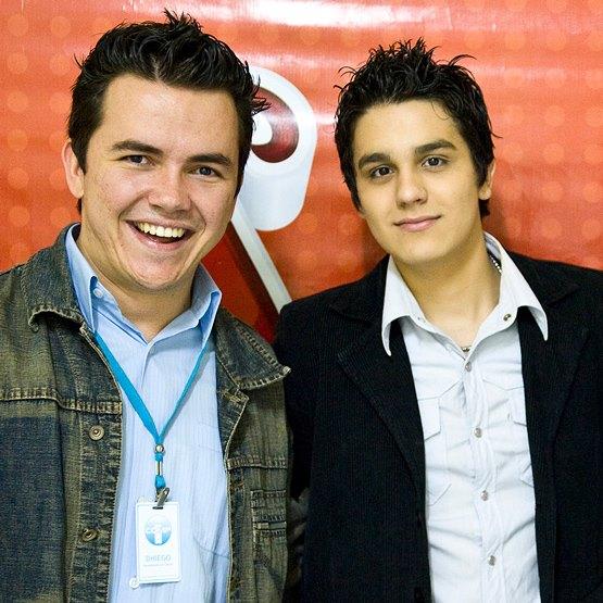 Dhiego Bicudo e Luan Santana